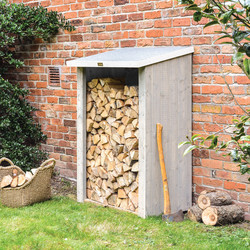 Rowlinson Rowlinson Heritage Log Store 150cm (h) x 93.5cm (w) x 71cm (d) - 90229 - from Toolstation