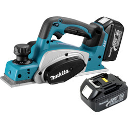 Makita Makita DKP180RMJ LXT 18V Li-Ion Cordless 2mm Planer 2 x 4.0Ah - 90676 - from Toolstation