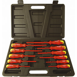 Soft Grip Insulated Screwdriver Set
