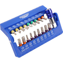 Draper Expert Draper Expert Screwdriver Bit Set  - 90731 - from Toolstation