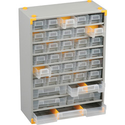 Barton Steel Small Parts Compact Cabinet 430 x 300 x 140mm - 48 Pieces - 90859 - from Toolstation