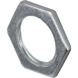 Unbranded Galvanised Lock Nut 25mm - 90877 - from Toolstation