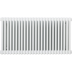 Arlberg Arlberg 3-Column Horizontal Radiator 600 x 1176mm 5200Btu White - 90913 - from Toolstation