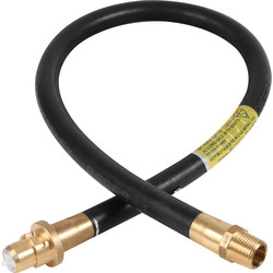 Gas Bayonet Cooker Hose 3ft NG