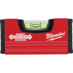 Milwaukee Milwaukee MINIBOX Spirit Level 100mm - 90957 - from Toolstation