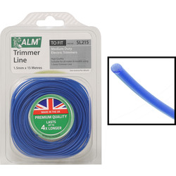 ALM ALM Universal Round Trimmer Line 15m x 1.5mm - 90989 - from Toolstation