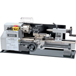 Draper Draper 250W Variable Speed Metal Work Lathe 230V - 91019 - from Toolstation