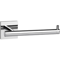 Croydex Chester Flexi-Fix Toilet Roll Holder Polished Chrome