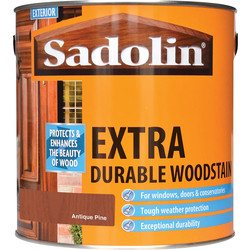 Sadolin Sadolin Extra Durable Wood Stain 2.5L Antique Pine - 91083 - from Toolstation