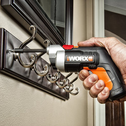 Worx WX252 4V Li-Ion Cordless Extended Screwdriver