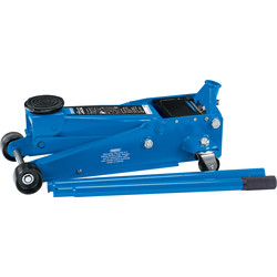 Draper Heavy Duty Quick Lift Trolley Jack 3 Tonne