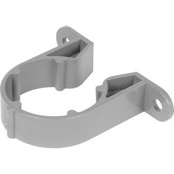 Pipe Clip 40mm Grey