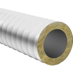 Verplas PVC Flexible Insulated Ducting Hose 100mm x 10m - 91341 - from Toolstation