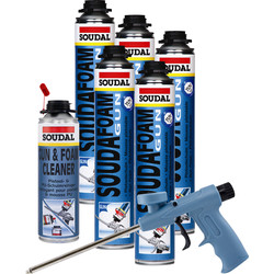 Soudal Expanding Foam Window & Door Kit