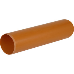 Aquaflow Underground Pipe 160mm 3m  - 91400 - from Toolstation