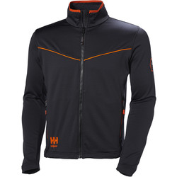 Helly Hansen Helly Hansen Chelsea Evolution Mid-Layer Jacket Small Black - 91425 - from Toolstation