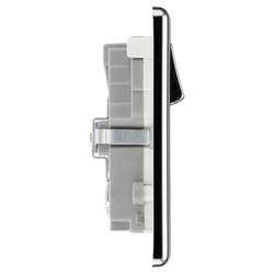 BG Polished Chrome USB 13A Switched Socket