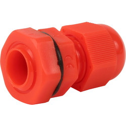 IMO Stag IMO Stag IP68 Cable Gland 12mm Red - 91504 - from Toolstation