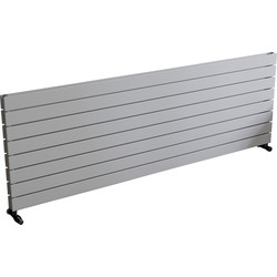 Ximax Ximax Oxford Duo Horizontal Designer Radiator 595 x 1800mm 6041Btu White - 91508 - from Toolstation