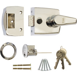 Era ERA Replacement Nightlatch Door Lock 60mm Polished Chrome - 91514 - from Toolstation
