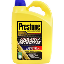 Prestone Antifreeze / Coolant Ready To Use 4L