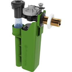 "Fluidmaster Fluidmaster AIRGAP 6000 Water Saving Brass Shank Fill Valve 1/2"" Side Entry - 91586 - from Toolstation"