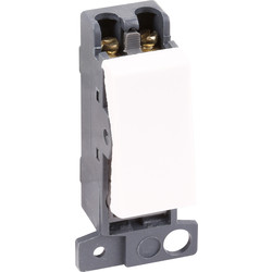 Scolmore Click Click Mode Grid Module 13A DP  Switch - 91695 - from Toolstation