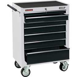 "Draper Draper Roller Cabinet 26"" 7 drawer - 91755 - from Toolstation"