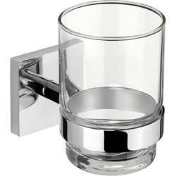 Croydex Chester Flexi-Fix Tumbler Polished Chrome