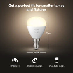 Philips Hue White Bluetooth Lamp Luster