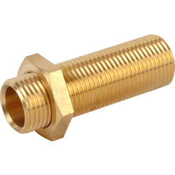 HEAD Brass Shower Arm Connector  - 91988 - from Toolstation