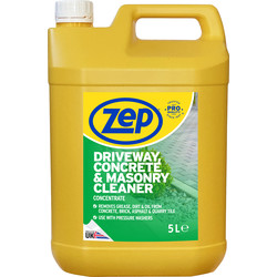Zep Zep Commercial Driveway, Concrete & Masonry Cleaner 5L - 91994 - from Toolstation