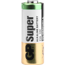 GP Super 23A Alkaline Battery 12V - 92000 - from Toolstation