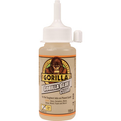 Gorilla Glue Gorilla Glue Clear 110ml - 92139 - from Toolstation