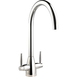 Mono Mixer Kitchen Tap Chrome - 92192 - from Toolstation
