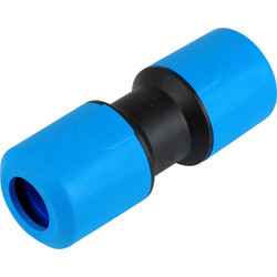 JG Speedfit JG Speedfit MDPE Equal Straight Connector 25mm - 92216 - from Toolstation