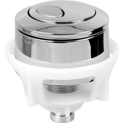 Fluidmaster Fluidmaster Dual Flush Push Button Valve Replacement Button - 92217 - from Toolstation