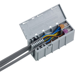 Wago WAGOBOX Junction Box 108 x 39 x 44 mm - 92231 - from Toolstation