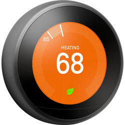 Google Nest Nest Learning Thermostat Black T3029EX - 92292 - from Toolstation