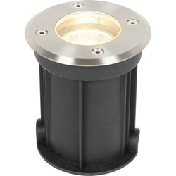 Zinc Zinc Pan Drive Over Ground Light IP67 1 x 35W Max - 92295 - from Toolstation