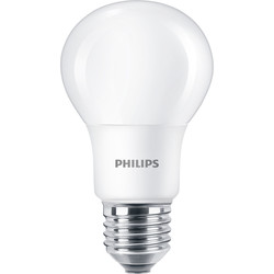 Philips Philips LED A Shape Lamp 5.5W ES (E27) 470lm - 92366 - from Toolstation
