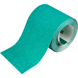 Oakey Oakey Liberty Green Alox Sanding Roll 115mm 120 Grit 10m - 92522 - from Toolstation