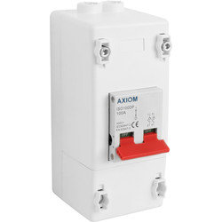 Axiom Axiom Isolator with Enclosure 100A DP - 92544 - from Toolstation
