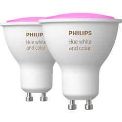 Philips Hue Philips Hue White And Colour Ambiance Bluetooth Lamp GU10 - 92549 - from Toolstation