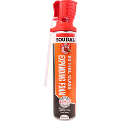 Soudal Fire & Acoustic Expanding Foam 600ml B2