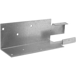 Powapost Arris Rail Bracket Mortice 60 x 60 x 200mm - 92651 - from Toolstation