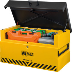 Van Vault Van Vault 2 Storage Box 935mm (L) x 590mm (D) x 494mm (H) - 92711 - from Toolstation