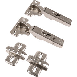 Blum Blum Sprung Concealed Hinge 107° Cliptop Overlay - 92863 - from Toolstation