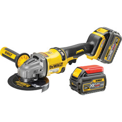 DeWalt DeWalt DCG414 54V XR FlexVolt 125mm Grinder 2 x 6.0Ah - 92977 - from Toolstation