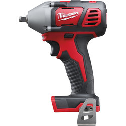 "Milwaukee Milwaukee M18BIW38-0 18V Li-Ion Compact Cordless Impact Wrench 3/8"" Body Only - 93007 - from Toolstation"